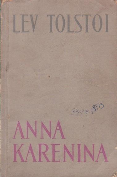 Anna Karenina, Volumul al II-lea (Editie 1961)