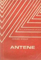 Antene - traducere din limba germana