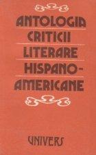 Antologia criticii literare hispano americane