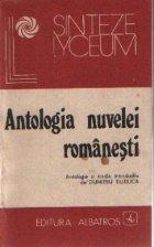 Antologia nuvelei romanesti. De la Constantin Negruzzi la Mircea Eliade