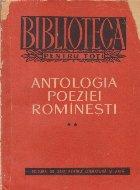 Antologia poeziei rominesti, Volumul al II-lea