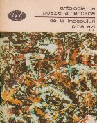 Antologie poezie americana inceputuri pina