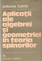 Aplicatii ale algebrei si geometriei in teoria spinorilor