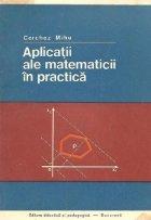Aplicatii ale matematicii in practica