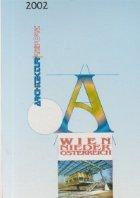 Architektur-Jahrbuch 2002 - Wien Nieder Osterreich (Architektur Report)