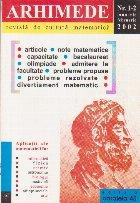 Arhimede Revista cultura matematica 2/2002