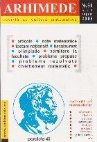 Arhimede Revista cultura matematica 8/2005
