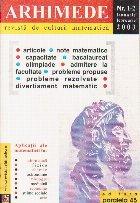 Arhimede Revista cultura matematica 12/2003