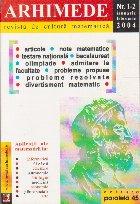Arhimede Revista cultura matematica 12/2004