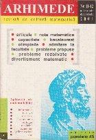 Arhimede Revista cultura matematica 12/2001