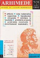 Arhimede Revista cultura matematica 6/2002