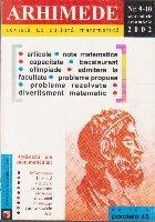 Arhimede Revista cultura matematica 10/2002