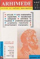Arhimede - Revista de cultura matematica, Nr. 11-12/2002