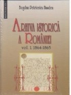 Arhiva istorica Romaniei vol 1+2