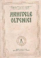 Arhivele Olteniei, Nr. 4 - Serie Noua