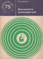 Astrometria contemporana