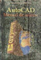 AutoCAD - Manual de initiere