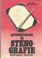Autoinstruire in steno-grafie - Sistemul Taylor