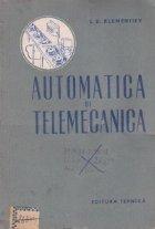 Automatica si telemecanica