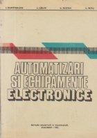 Automatizari si echipamente electronice