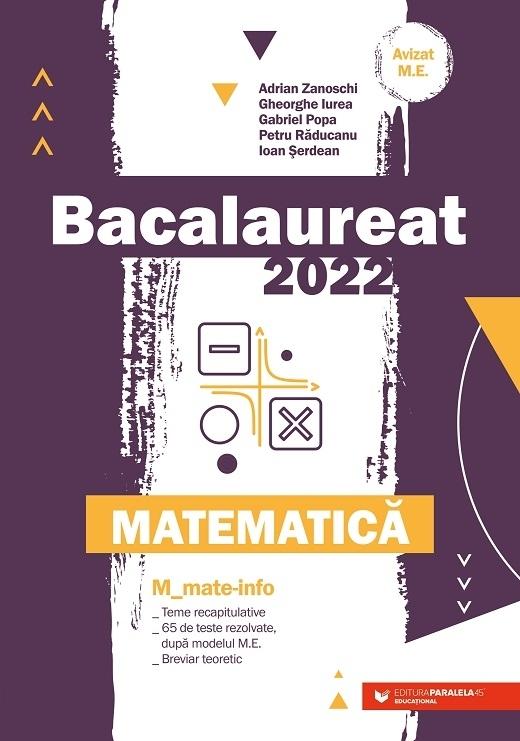 Bacalaureat 2022