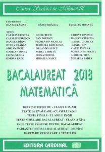 Bacalaureat 2018 Matematica