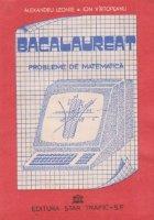 Bacalaureat - Probleme de matematica (1980-1990)