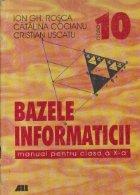 Bazele Informaticii, Manual pentru clasa a X-a