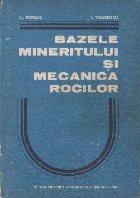 Bazele mineritului si mecanica rocilor