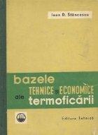 Bazele tehnice si economice ale termoficarii