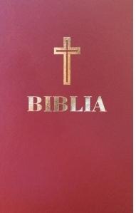 Biblia. Editie omagiala 100 de ani de la Marea Unire, grena, hartie crem
