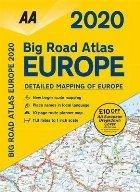 AA Big Road Atlas Europe 2020