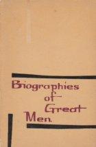 Biographies of great men
