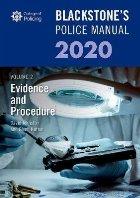 Blackstone's Police Manuals Volume 2: Evidence and Procedure