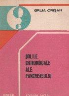 Bolile chirurgicale ale pancreasului