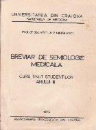 Breviar de semiologie medicala (Editie 1975)