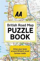 AA British Road Map Puzzle Book