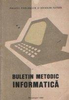 Buletin metodic Informatica
