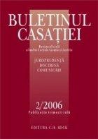 Buletinul Casatiei 2/2006