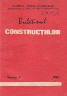 Buletinul Constructiilor (9/1986)