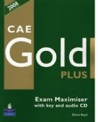 CAE Gold Plus Exam Maximiser with key and audio CD