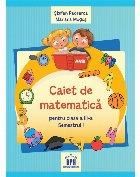 Caiet de Matematica - Clasa a III-a Semestrul I
