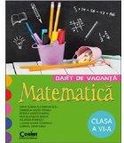 CAIET DE VACANTA CLS. A VI-A MATEMATICA