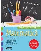 CAIET DE VACANTA. MATEMATICA CLASA A V-A