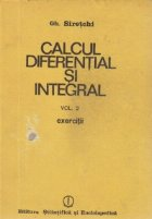 Calcul diferential si integral, Volumul al II-lea - Exercitii