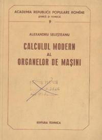 Calculul modern al organelor de masini