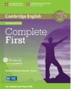 Cambridge English - Complete First. Workbook with Answers with Audio CD. Second Edition