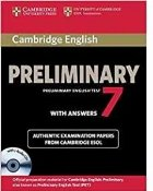 Cambridge English Preliminary 7 Student s Book Pack (Student s Book with Answers and Audio CDs (2)) (PET Practice Tests)