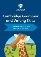 Cambridge Grammar and Writing Skills Teacher's Resource with