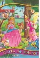 Carte de colorat pentru fete (format A4)
